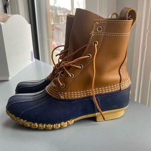 CLASSIC L.L. BEAN Boots in Navy Blue